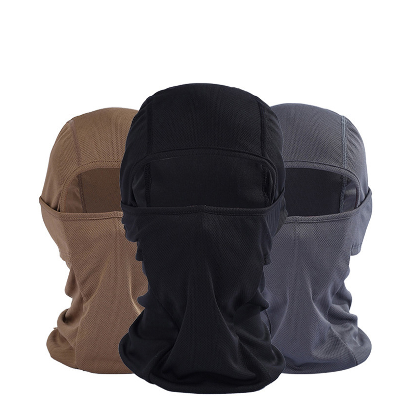 BONJEAN Breathable Balaclava Windproof Combat Hats Tactical Motorcycle Head Hood Military Helmet Full Face Mask For Women Men 1000m motorcycle helmet intercom bt s2 waterproof for wired wireless helmet