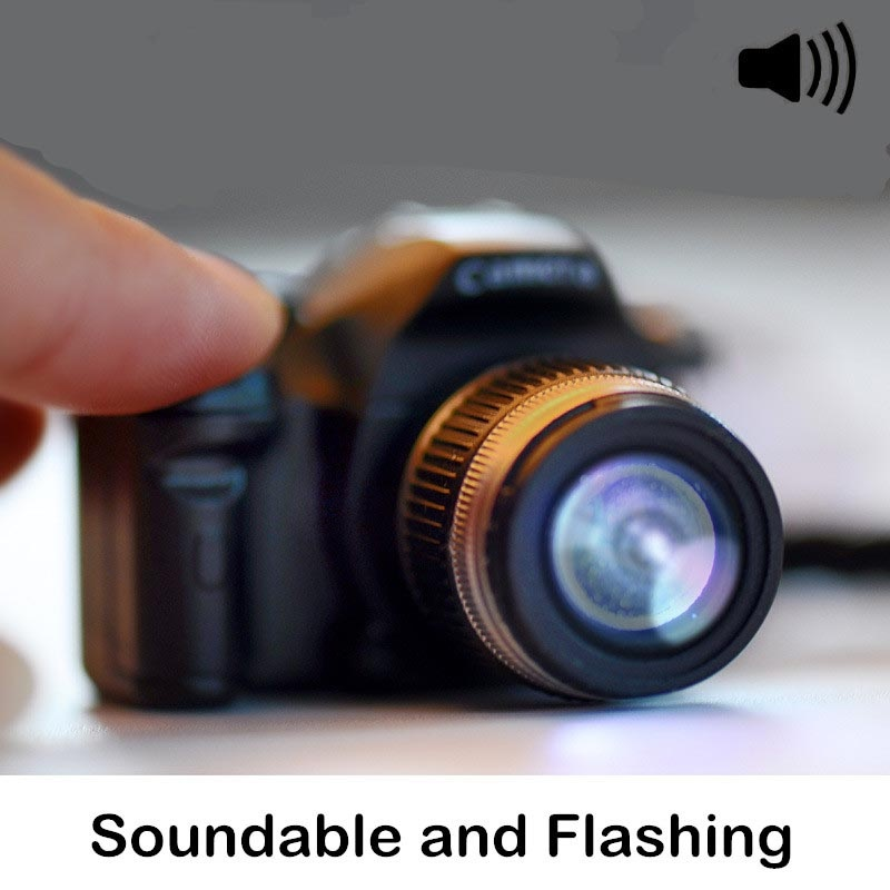 Creative Camera Led Keychains Toy With Shutter Sound Flashlight Key Ring Gift Cool Electronic Toys Whole Aliexpress