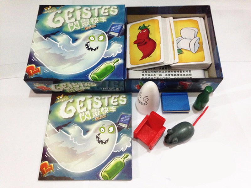 New Geistes 1.0 Fast Reaction Game Family Board Blitz Games English Version