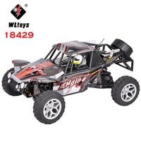 WLtoys 18429 1:18 RC Car 4WD Remote Control Radio RC Car 2.4G Climbing Vehicle RC Car Buggy Bigfoot Drift Toy Car