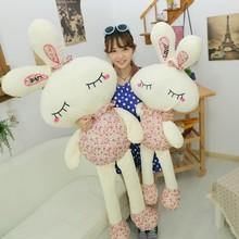 Милые плюшевые игрушки прекрасный Цветочный Кролик Кукла свадебный подарок на продажу плюшевые игрушки кукла подарок для ребенка