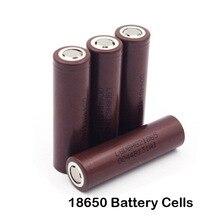 2 шт./лот новые для lg hg2 18650 li-ion для электронных сигарет поле mod аккумуляторная батарея 3000 мАч