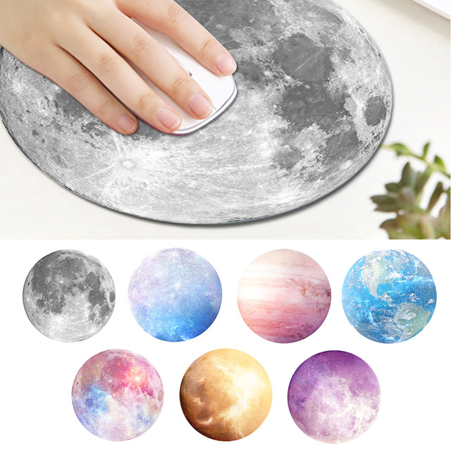 Vococal 220 x 220 x 3mm cool planet printed world map round shape vococal 220 x 220 x 3mm cool planet printed world map round shape mouse pad gumiabroncs Images
