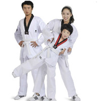 Hot Sell ZOOBOO Quality Cotton Taekwondo Suits