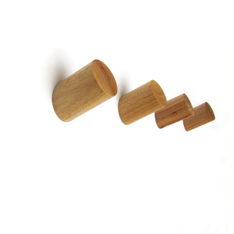 Percheros de pared de madera originales percheros de for Perchas con ganchos