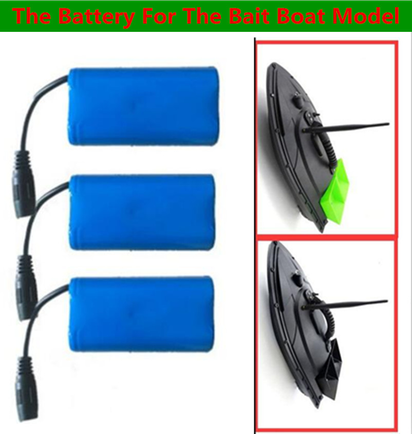 Envío gratis 1 piezas 2 piezas 3 piezas 2011-5 RC Control remoto buscador de peces eléctricos de cebo de pesca de B de repuesto piezas 7,4 V 5200 mAh de la batería