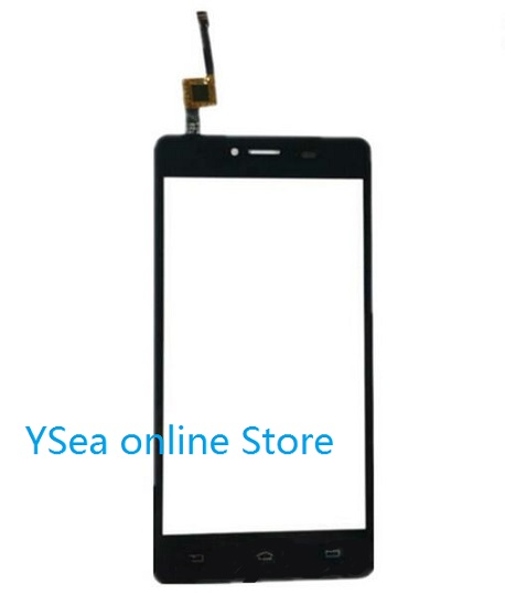Hot selling Black Front Panel Touch <font><b>Screen</b></font> for <font><b>Philips</b></font> Xenium <font><b>s326</b></font> sensor Mobile Phone glass display Replacement Pane image