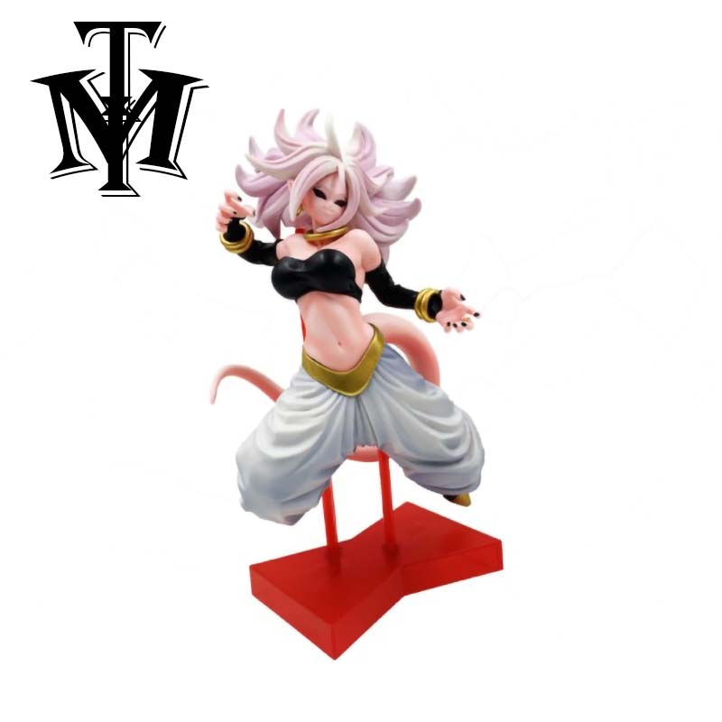 Anime Dragon Ball Z Majin Buu Woman Android Girl Jumping Ver Action Figure Dbz Goku Fighter Ultimate Form Pvc Collection Model Aliexpress