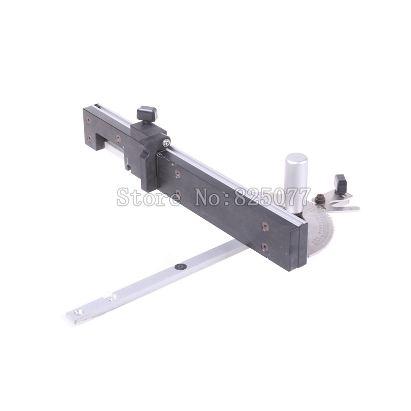 Woodworking Tools Miter Gauge And Box Joint Jig Kit With Adjustable Flip Stop Woodworking DIY Tools