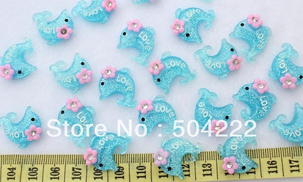 Beads & Jewelry Making 200pcs Mixed Colors Bears Resin Decoden Kawaii Flatback Cabochon 24mm Lovely Printed D25