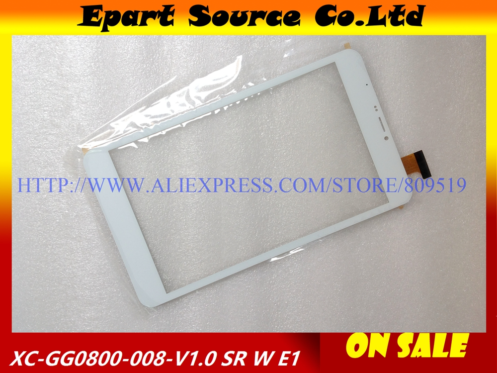 A+ touch screen touch panel glass for U27GT-3GH U27GT tablet XC-GG0800-008-V1.0 white