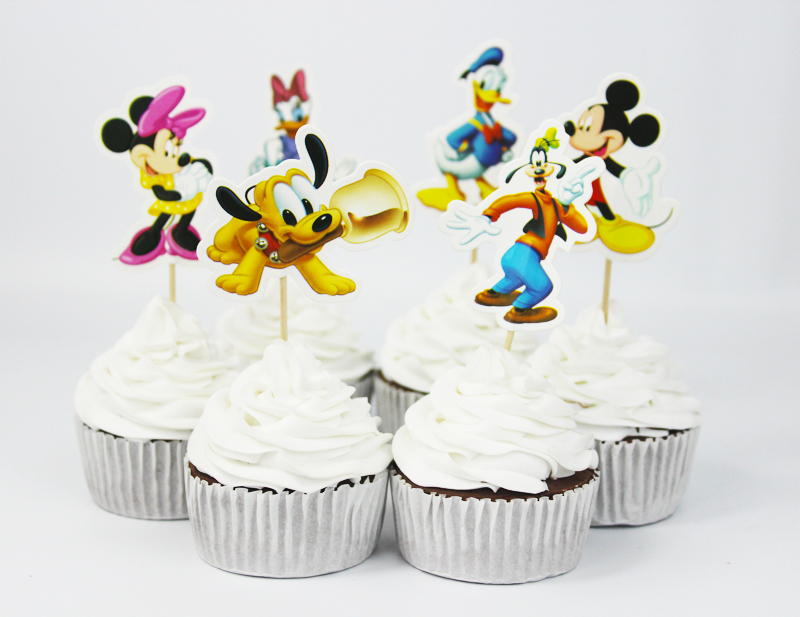 wedding cake supply store mickey amp minnie mouse cupcake toppers cake decorating 25850