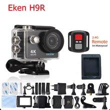 """Original EKEN H9/H9R Action camera Ultra HD 4 K/25fps WiFi 2.0 """"170D Helmet Cam câmera subaquática à prova d' água Esporte cam"""