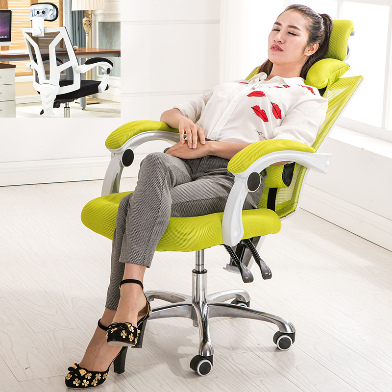 Cloth Household Member Work In An Office Furniture Working Modern Swivel Computer Chair Ergonomics Revolving Boss Foot(China)