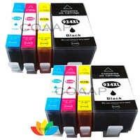 8x Kompatible Tintenpatronen für hp 934 hp935 XL für Officejet 6812 6815/Pro 6835 6830 6230 e-All-in-One Drucker