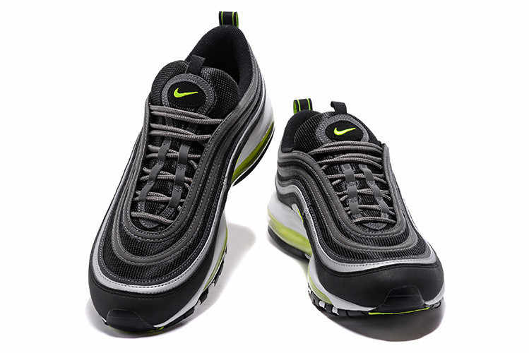 f4b4ebec88 ... Nike Air Max 97 Fluorescent Green Retro Flow Line Men Breathable 3M Badminton  Shoes,NIKE ...