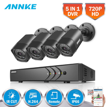 ANNKE 8CH 5 IN 1 DVR Kits Surveillance Camera HD 720P TVI CCTV Security System 1080N DVR Kit 1280TVL Outdoor Weatherproof Video