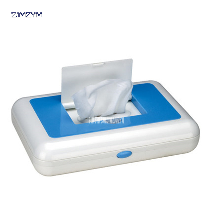 ZQ-2011 Wet Towel Dispensers portable baby constant temperature wet wipes warm wet wipes heating box with car charger 220V 50hz