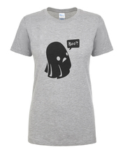 Ghost Boo Print Halloween T-shirt