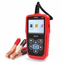 NEXAS NB360 12V 24V Car Battery Tester Universal Auto Battery Analyzer 2000CCA Battery Tester Both for Mini Car and Duty Trucks