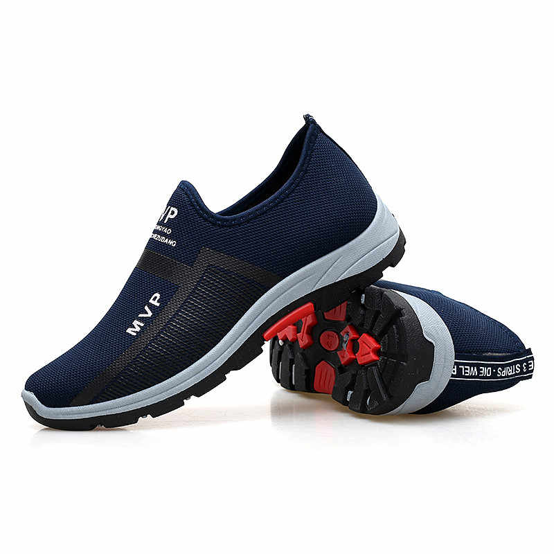 Frühling Turnschuhe Männer Casual Schuhe Air Mesh Schuhe Für Männer Müßiggänger Schwarz Mode Turnschuhe Herren Trainer Sapato Masculino PINSV