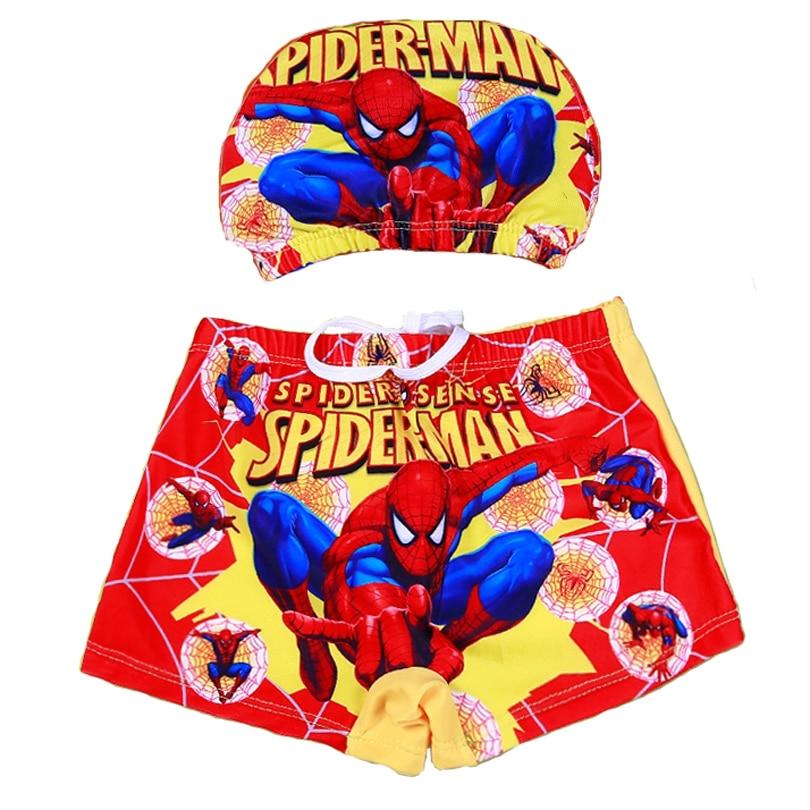 Spiderman Zwembroek.Kid Spiderman Badmode Cartoon Badmuts Jongens Zwembroek Kinderen