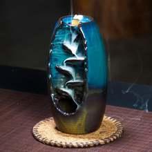 Курильница для благовоний backflow керамическая курильница дома