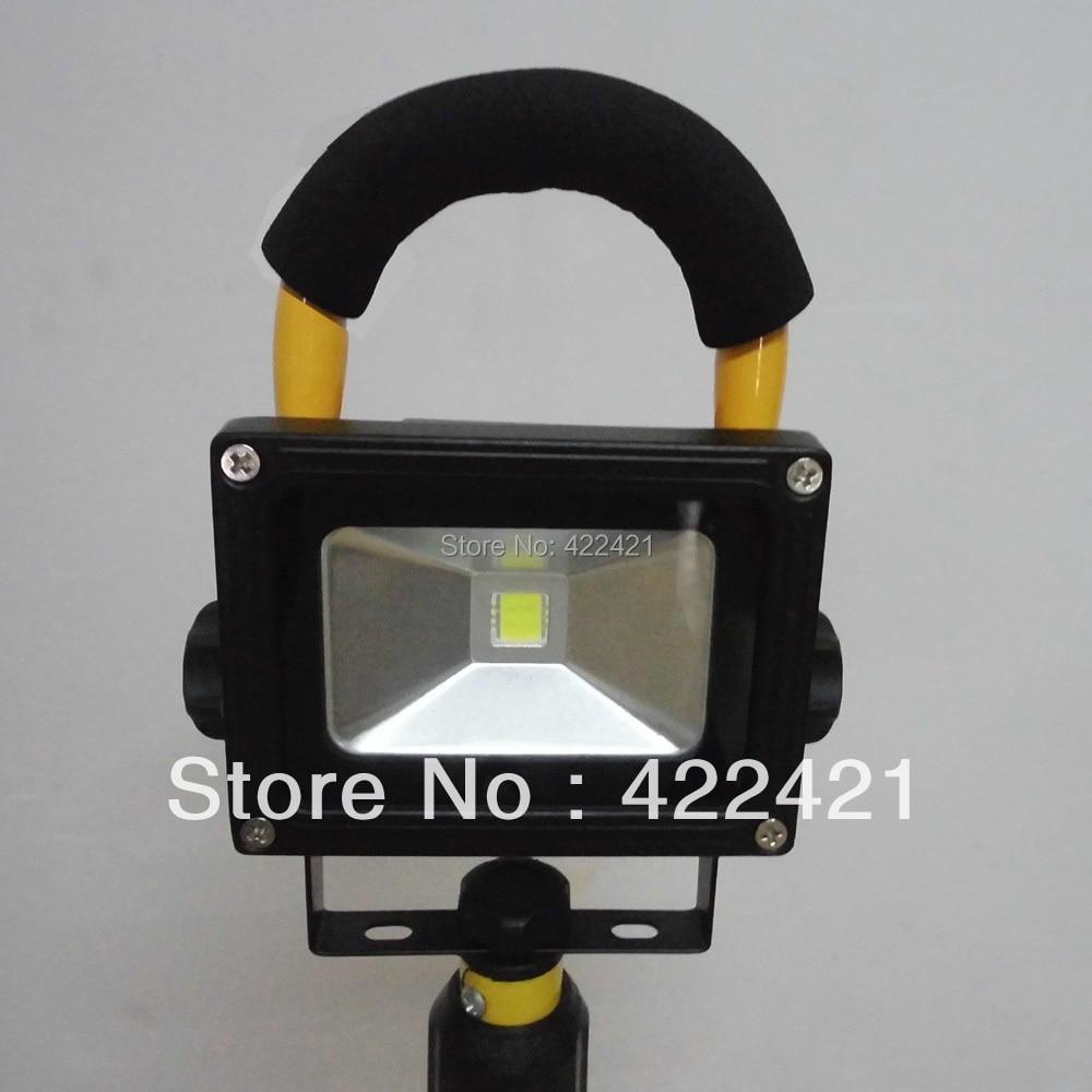 10W LED luz de inundación recargable luz exterior lámpara de la - Iluminación portatil - foto 3