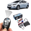 Universal Car Auto Remote Central Kit Door Lock Locking Vehicle Keyless Entry System Retail Package With Remote Controllers