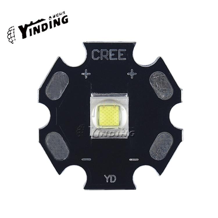 5 PCS of generic CREE XM - L2 T6 U3 10 w high power LED lamp bead ultra bright flashlight wick