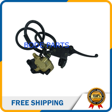 Big discount free shipping Hydraulic Front Disc Brake Caliper System&Pads for 90cc 125cc 150cc Dirt Pit Bike DS-134
