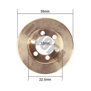 Image 2 - INJORA 2 pz Ottone 63g Interno Contrappeso per 1.9 2.2 pollice Ruota Cerchi Assiale SCX10 90046 D90 TF2 Traxxas TRX4