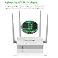 Bilgisayar ve Ofis'ten Kablosuz Yönlendiriciler'de Orijinal WE1626 kablosuz WIFI yönlendirici 3G 4G USB Modem 4 harici antenler ile 802.11g 300Mbps openWRT /Omni II erişim noktası