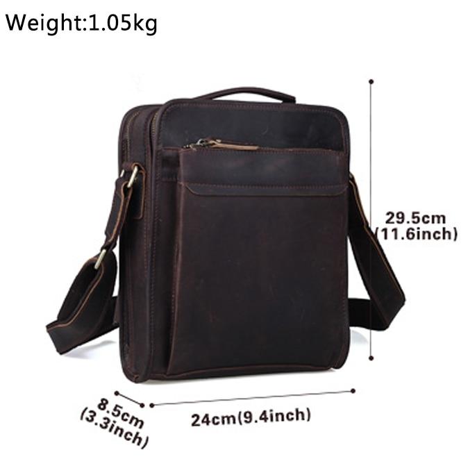TIPOVANJE navpične vreče iz pravega usnja Tote Organizer Bag za - Torbice - Fotografija 6