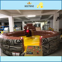 Interesting design outdoor indoor inflatable bull fighting games for adults