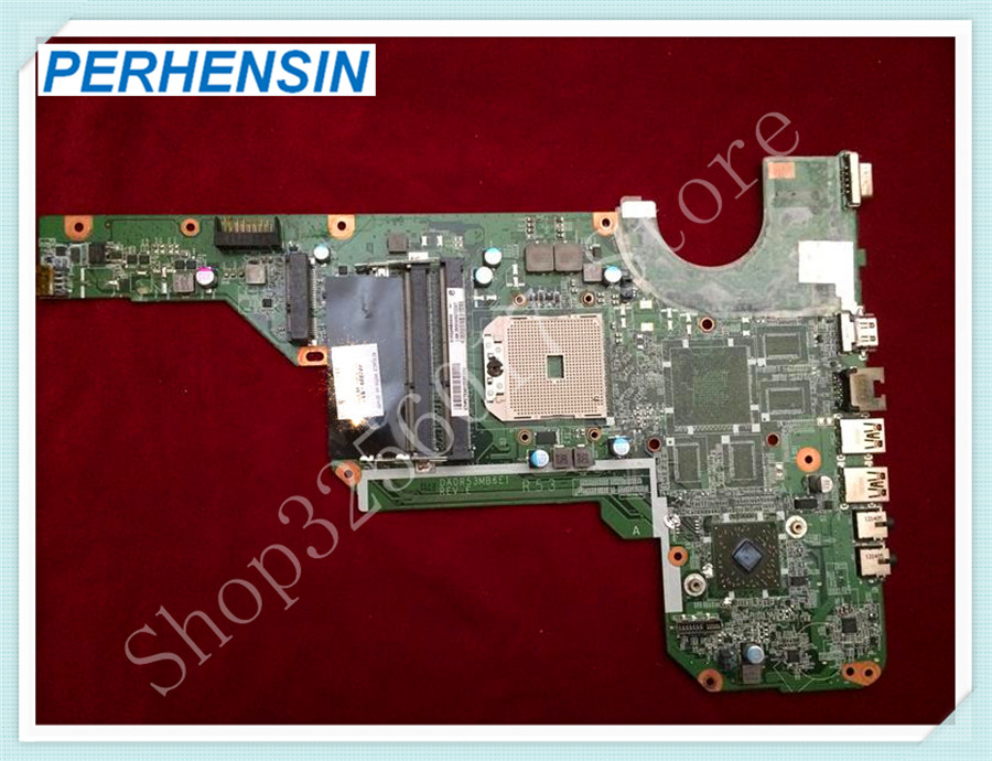 For HP For Pavilion G4 G6 G7 -2000 laptop MOTHERBOARD 683029-501 683029-001 DA0R53MB6E1 DDR3 integrated 100% tested good 574680 001 1gb system board fit hp pavilion dv7 3089nr dv7 3000 series notebook pc motherboard 100% working