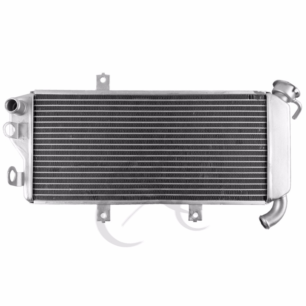 Motorcycle Aluminum Radiator Cooler for Kawasaki Ninja ER6N ER-6F 650R EX650 2009-2011 2010 aluminum motorcycle cooler radiator for kawasaki 2004 2005 ninja zx10r china motorcycle parts and accessories
