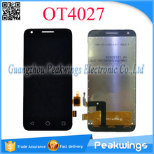 For Alcatel One Touch Pixi 3 4027 OT4027 Touch Screen Digitizer Panel with LCD Display Screen Assembly