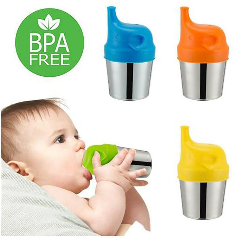 1 PC Portable Sippy Cup Lids Spillproof Leakproof Baby Cup Cover Baby Training Drinking Silicone Cup Kids Learn Drinking Tool W4 футболка wearcraft premium slim fit printio los angeles kings nhl usa