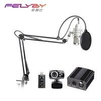 Professional Condenser Microphone BM 800 BM 800 Cardioid Pro Audio Studio Vocal Recording Mic 48v Phantom