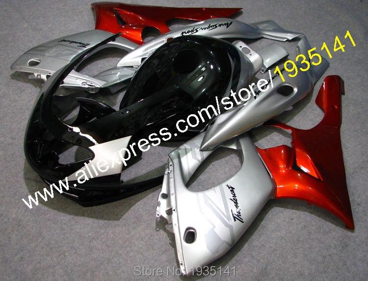 Offres spéciales, pour Yamaha Yzf600R Thundercat 1997-2007 YZF-600R 97-07 argenté noir orange kit carrosserie carénage Yzf 600R