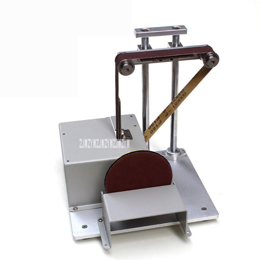 Professional 5000rpm Sand Belt Polishing Machine Mini Portable Desktop Woodworking Grinding Machine 12-24V 8A dynacord dynacord d 8a