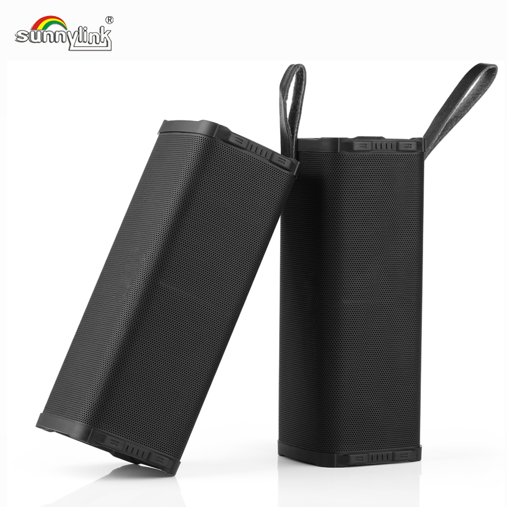 New Patent 2pcs/Lot TWS Outdoor Wireless Portable Bluetooth Speaker 100% True Wireless Stereo HiFi Waterproof Bluetooth Speaker