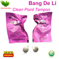 50pcs Bang De Li Clean Point Tampon beautiful life tampons 100% original tampon for women vagina detox pearls free shipping