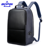 Multifunction USB Charging Men 14 17inch Laptop Backpacks For Teenager Fashion Male Mochila Leisure Travel Backpack