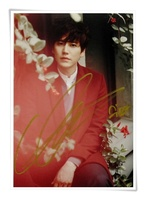 Super Junior SJ Cho KyuHyun Kyu Hyun Autographed Signed Picture Photo 6 Inches Korean Freeshipping 09