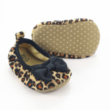 Shallow Leopard Baby Girls Shoes