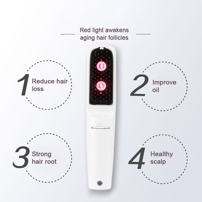 Image 5 - Hair care Red light laser hair growth Comb Hair brushes grow Anti hair Loss Therapy regrowth device machine infrared massager-in Electric Hair Brushes from Home Appliances