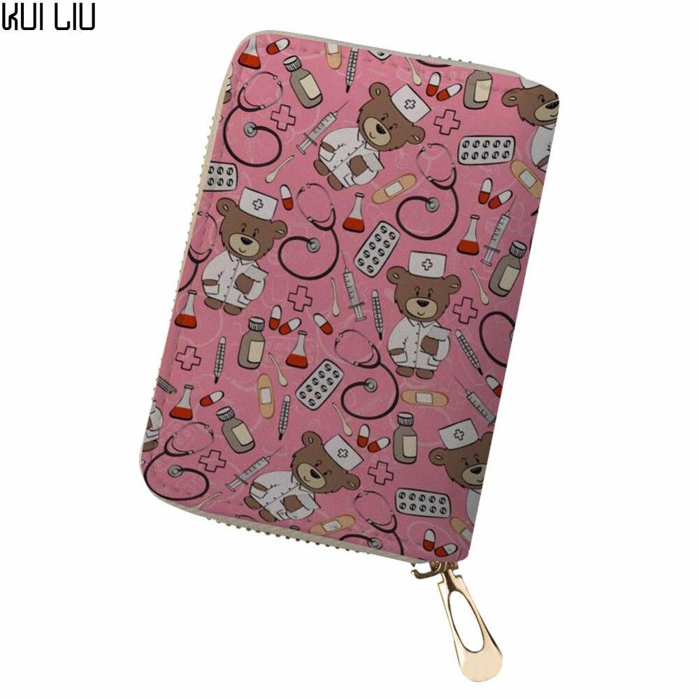 Aangepaste Shivering Dieren Clutch Bag Vrouwen Mannen Credit Business Bank Kaarten Paspoort Pu Lederen Pokemon Kaart Koop Nu