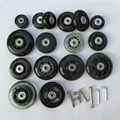 Replacement Luggage Wheels Axles Deluxe suitcase wheels Repair , Replacement wheels for luggage